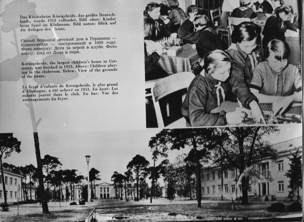 1955, Ausschnitt aus einer Broschüre, Foto: Museum Treptow-Köpenick